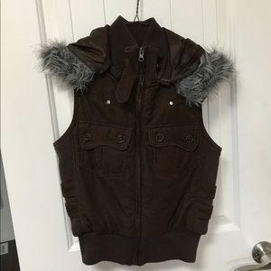 Forever 21 brown vest